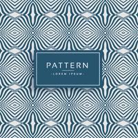 stijlvolle vloeiende lijnen vector patroon achtergrond