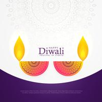 creative diwali celebration poster festival greeting card design