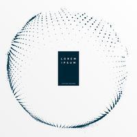 Fondo de puntos de semitono digital abstracto