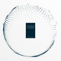abstrakter digitaler Halbton punktiert Hintergrund