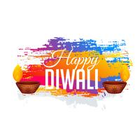 abstract diwali gestival background with colorful grunge