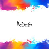 colorful ink splatter vector grunge background