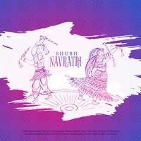 koppel spelen dandiya in navratri dusseshra festival