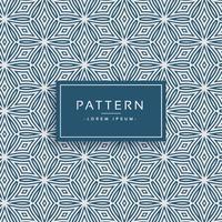 abstracte lijn bloem stijl patroon achtergrond