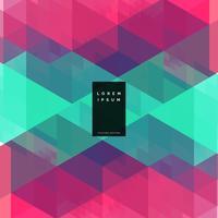 geometrische bunte abstrakte Hintergrundauslegung