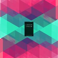 geometrisk färgrik abstrakt bakgrundsdesign