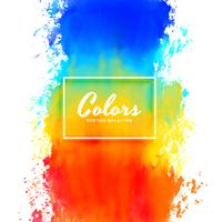 colorful splatter watercolor paint ink background