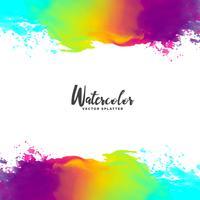 abstract waterverf grunge achtergrondontwerp
