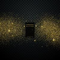 sfondo nero con scintillio dorato particella celebrazione backgr
