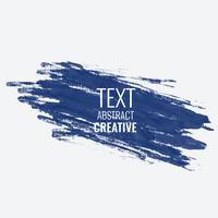 abstract blue paint stroke background design