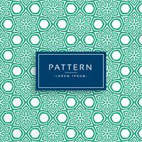 grön abstrakt blomma stil mönster bakgrund
