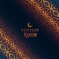 festival de ramadan kareem fond islamique