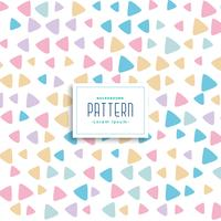 cute colorful triangle pattern background