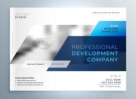 kreative Business-Flyer Deckblatt Design