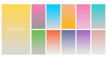 gradientes de fondo suave colorido moderno