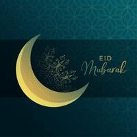 eid mubarak festival hälsning bakgrund