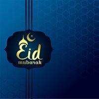Creativo eid mubarak festival hermoso fondo