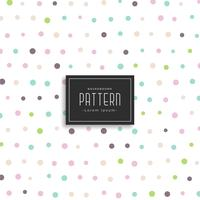 soft color polka dots pattern background