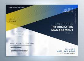 elegant business flyer design template