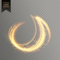 abstract light streak lines vector