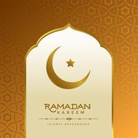 schöner islamischer Ramadan Kareem-Hintergrund
