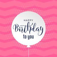 lindo fondo rosa feliz cumpleaños fondo