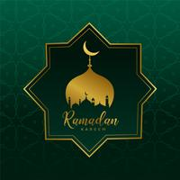 islamitische ramadan kareem ontwerp achtergrond