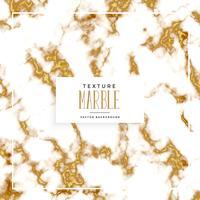 fond de texture marbre blanc et or