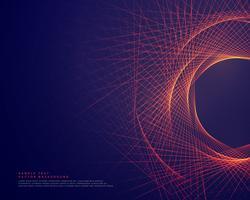 abstrakte Linien, die Tunnerformhintergrund bilden