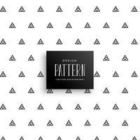 Fondo de vector de patrón de triángulo sutil