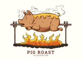 Gris Roast Illustration