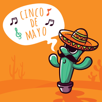 Illustrazione di Cinco De Mayo