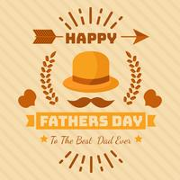 Father's Day Greeting Cards Vector