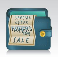 Fathers Day Sale Illustration