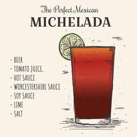 Michelada Vector