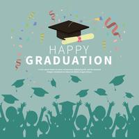 Graduation Card Illustration