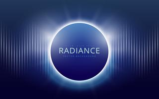 Radiance Vector Background, Editable Template