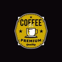 Coffee Shop Logo Badge