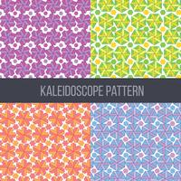 Caleidoscoop patroon Vector Set