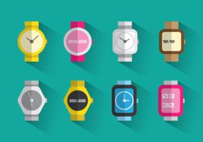 Vetores de relógio