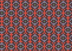 Native Square Pattern Background vector