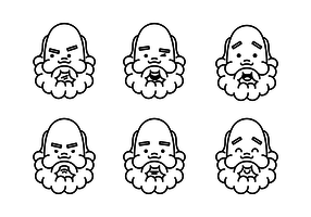 Socrates Faces Vectors