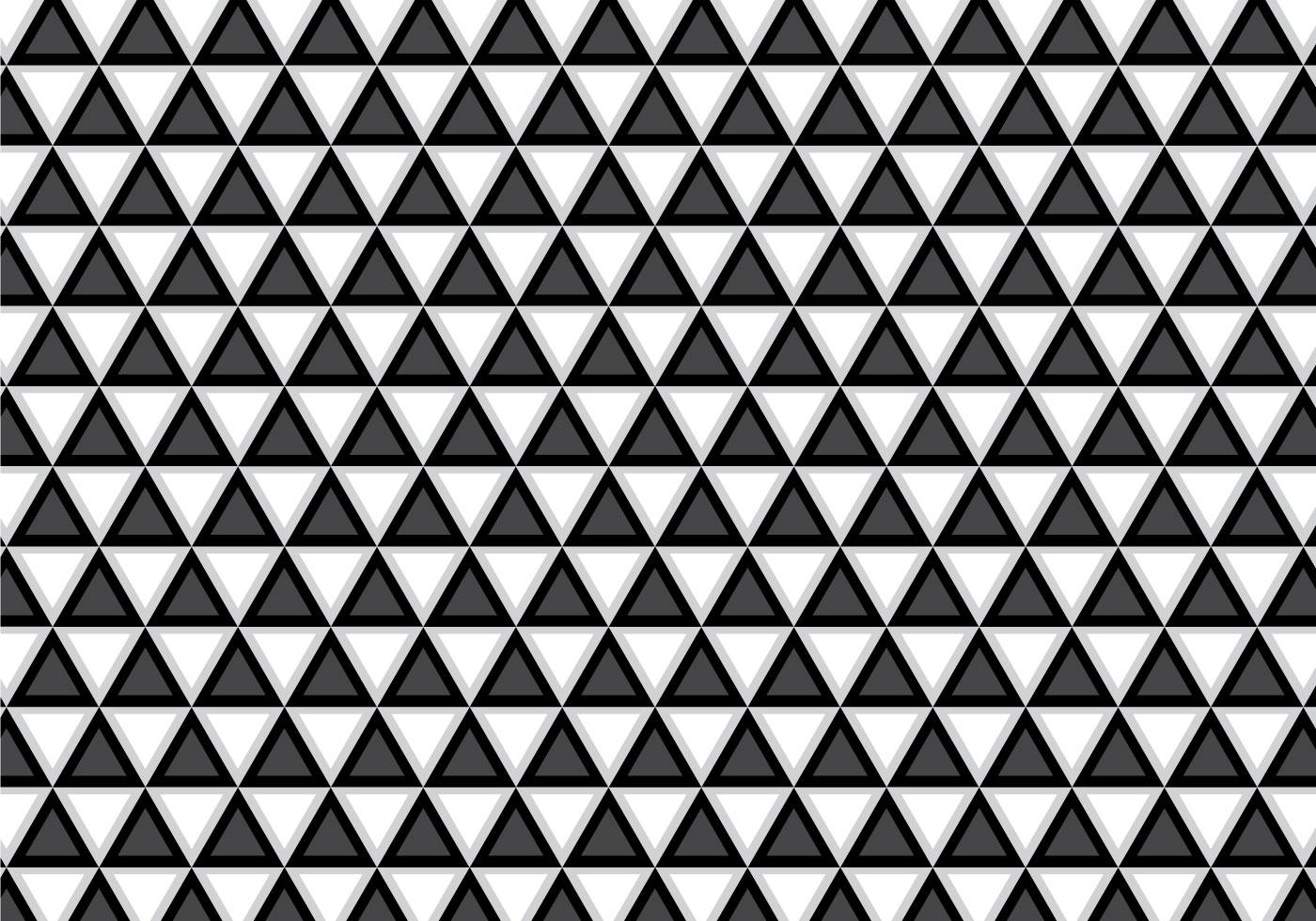 Geometrisches Schwarzweiss-Muster - Kostenlose Vektor-Kunst, Archiv ...