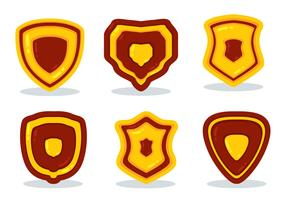 Shiled Shape Icons