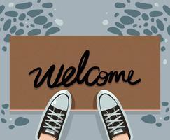 Welcome Mat Vector