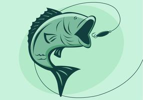 Vector de pez bajo