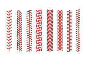 Iconos de encaje de béisbol