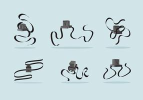 Tefillin Kostenlose Vector Pack