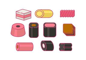 Licorice Candy Vector