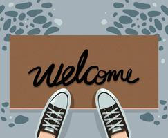 Welcome Mat Vector